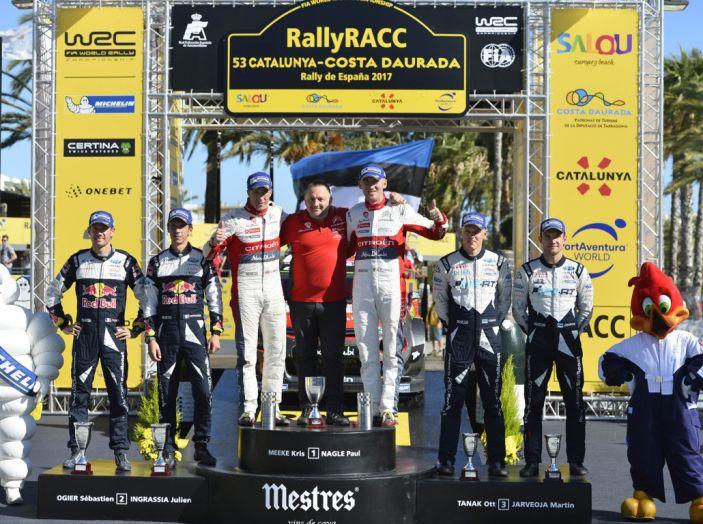 WRC Spagna – la cronaca della vittoria di Citroën - Foto 3 di 5