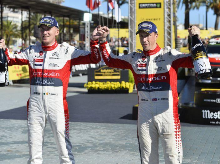 WRC Spagna – Giorno 3: la vittoria di Kris Meeke con Citroën C3 WRC - Foto 8 di 8