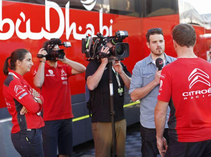 WRC Spagna – Giorno 2: le dichiarazioni del team Citroën - Foto 3 di 10