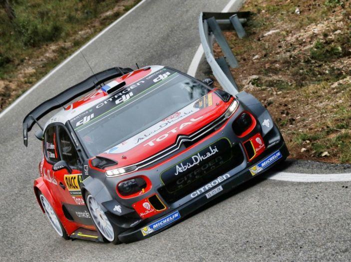 WRC Spagna – Giorno 2: al primo posto la C3 WRC di Meeke. - Foto 5 di 7