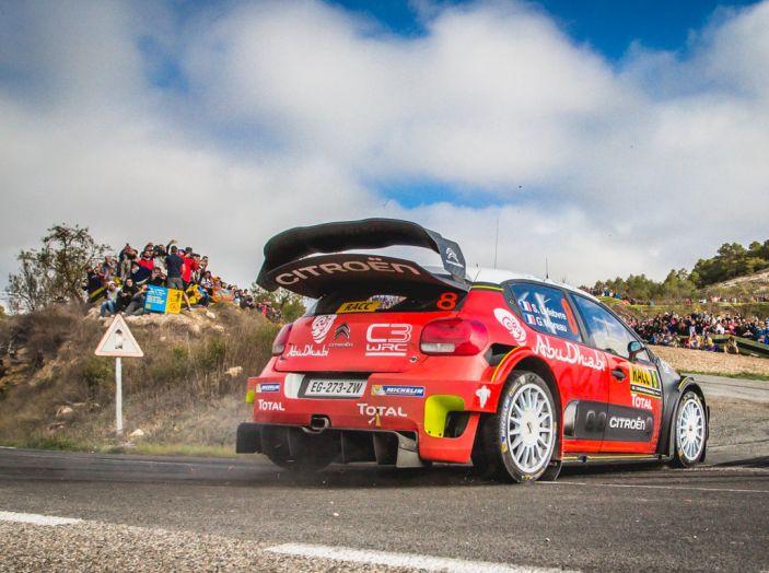 WRC Spagna – Giorno 2: al primo posto la C3 WRC di Meeke. - Foto 2 di 7