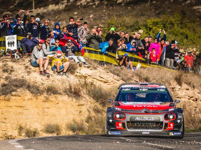 WRC Spagna – Giorno 2: al primo posto la C3 WRC di Meeke. - Foto 4 di 7