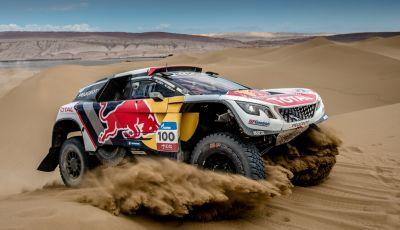 Peugeot 3008DKR Maxi per la Dakar 2018 – un VIDEO che dice tutto