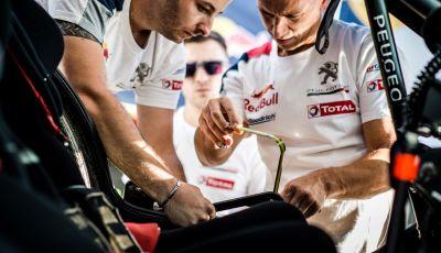 Rally del Marocco – Voce a Sainz e Loeb (Team Peugeot Total)