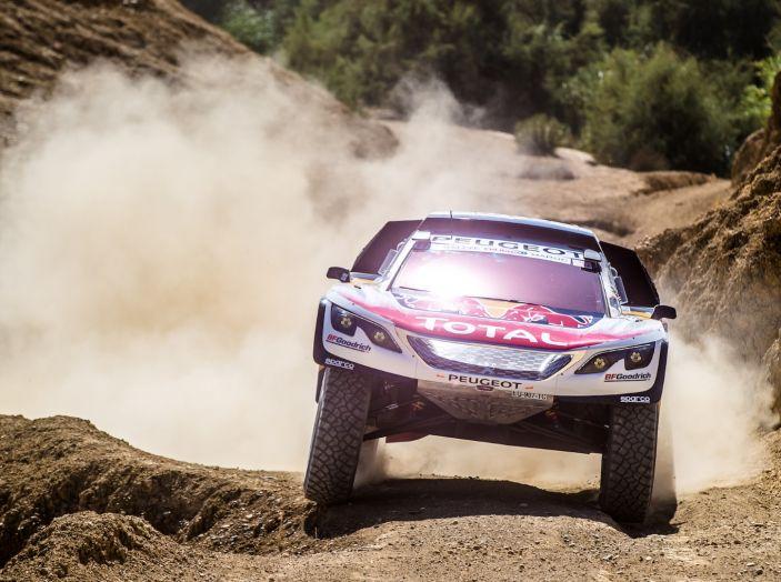 Rally del Marocco – Partenza prudente per i piloti Peugeot - Foto 2 di 3