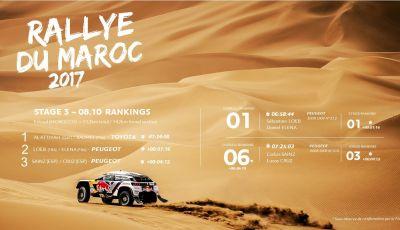 Rally del Marocco - Dopo Tappa 3 parlano i piloti Peugeot