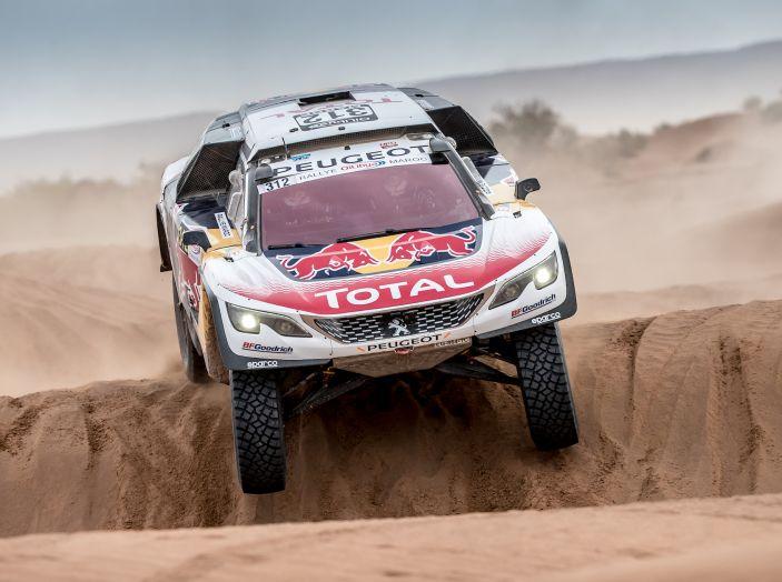 Rally del Marocco – VIDEO Peugeot della tappa 5 - Foto 1 di 1