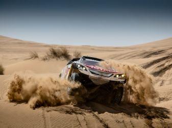 Peugeot sul podio del Rally del Marocco
