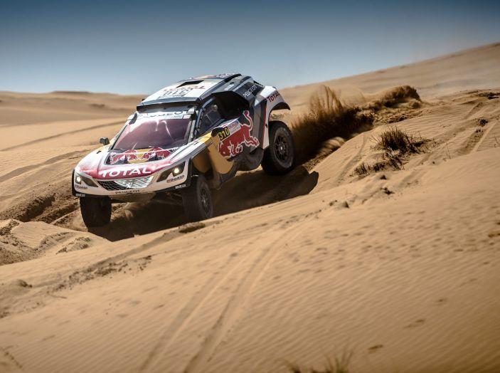 Peugeot sul podio del Rally del Marocco - Foto 3 di 5