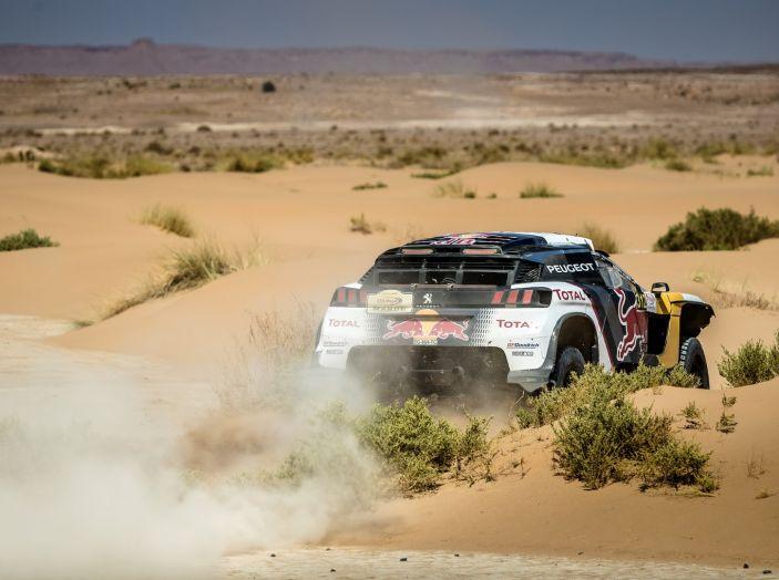Peugeot sul podio del Rally del Marocco - Foto 4 di 5