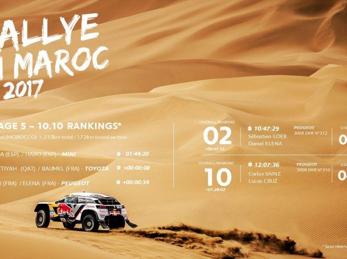 Peugeot sul podio del Rally del Marocco - Foto 5 di 5