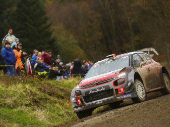 WRC Galles, GB – Shakedown: primi giri nel fango per le Citroën C3 WRC