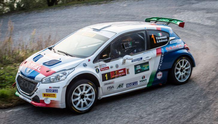 Paolo Andreucci campione italiano rally con Peugeot 208 T16 - Foto 2 di 3