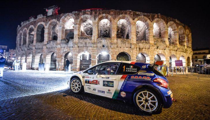 Paolo Andreucci campione italiano rally con Peugeot 208 T16 - Foto 3 di 3