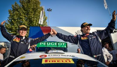 Peugeot fa cinquina, Andreucci tricolore emozionato