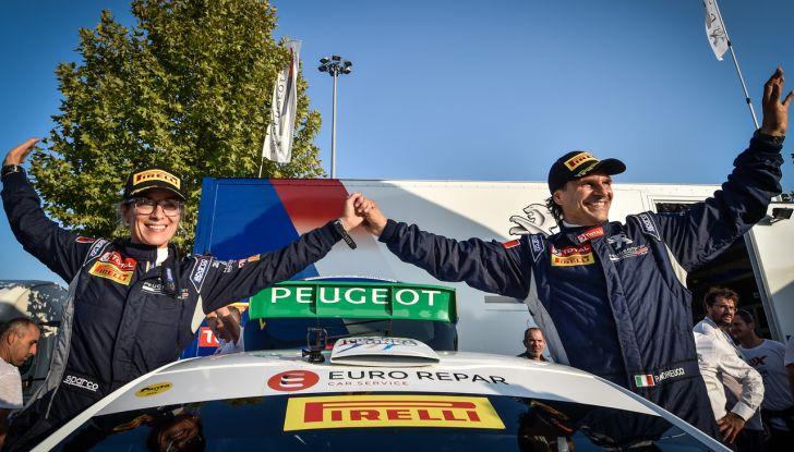 Peugeot fa cinquina, Andreucci tricolore emozionato - Foto 1 di 2