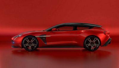 Aston Martin Vanquish Zagato Shooting Brake, spaziosa e sportiva