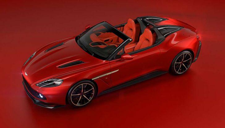 Aston Martin Vanquish Zagato Shooting Brake, spaziosa e sportiva - Foto 10 di 11
