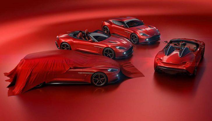 Aston Martin Vanquish Zagato Shooting Brake, spaziosa e sportiva - Foto 11 di 11