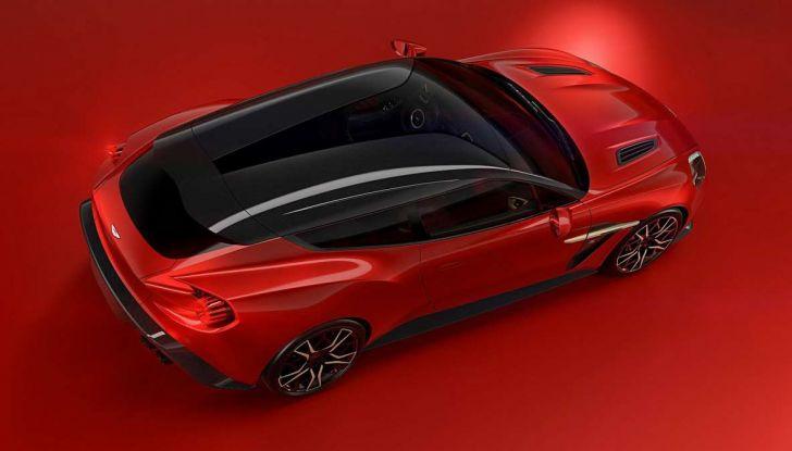 Aston Martin Vanquish Zagato Shooting Brake, spaziosa e sportiva - Foto 4 di 11