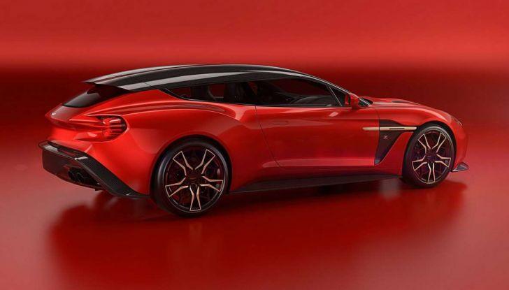 Aston Martin Vanquish Zagato Shooting Brake, spaziosa e sportiva - Foto 2 di 11