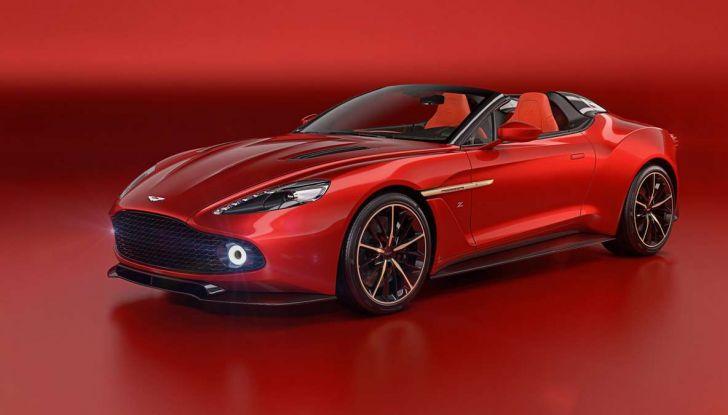 Aston Martin Vanquish Zagato Shooting Brake, spaziosa e sportiva - Foto 5 di 11