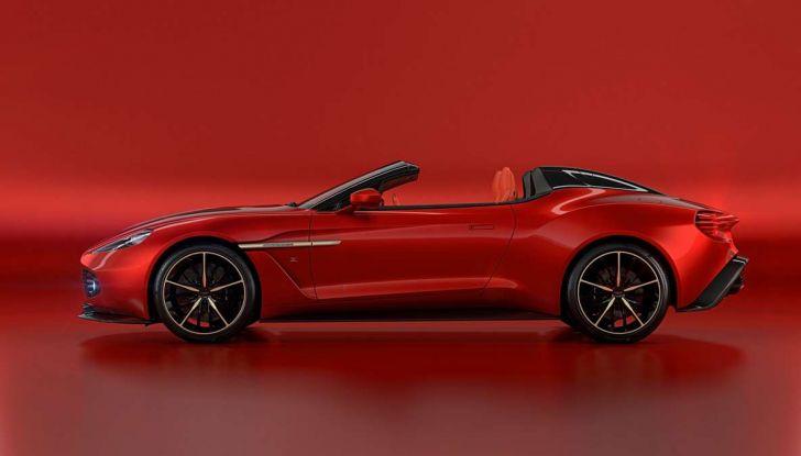 Aston Martin Vanquish Zagato Shooting Brake, spaziosa e sportiva - Foto 9 di 11
