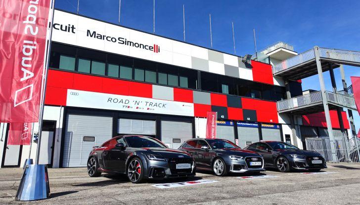 Audi Sport Road'n'Track: dalla strada alla pista con la gamma Audi RS - Foto 1 di 31