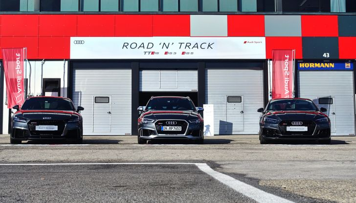 Audi Sport Road'n'Track: dalla strada alla pista con la gamma Audi RS - Foto 2 di 31
