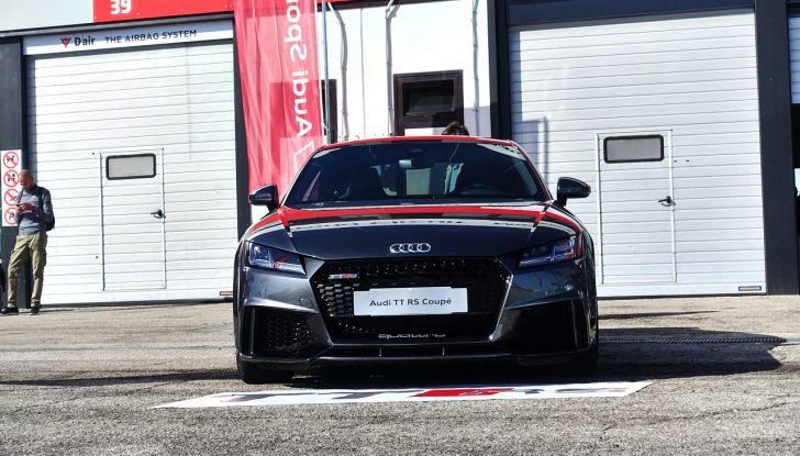 Audi Sport Road'n'Track: dalla strada alla pista con la gamma Audi RS - Foto 25 di 31
