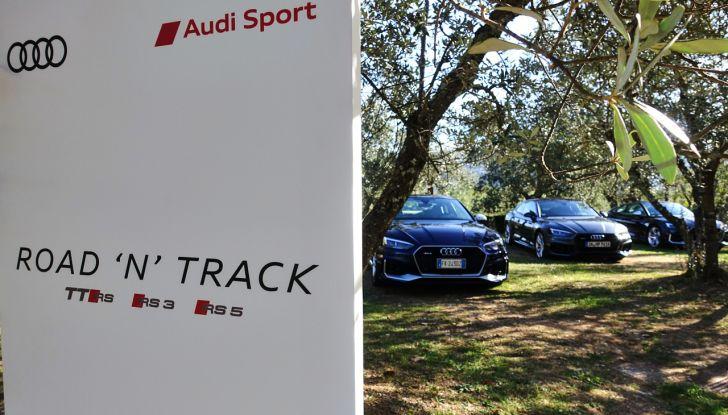 Audi Sport Road'n'Track: dalla strada alla pista con la gamma Audi RS - Foto 26 di 31