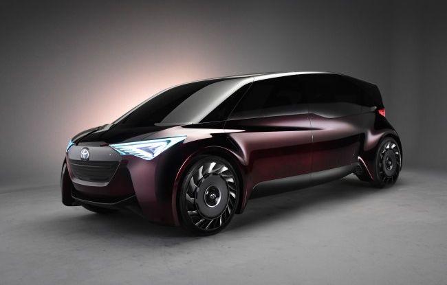 Auto a idrogeno, arriva la Fine-Comfort Ride di Toyota - Foto 1 di 15
