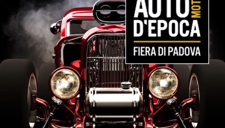 Auto e Moto d'Epoca Padova 2018: date, orari, novità - Foto 23 di 24