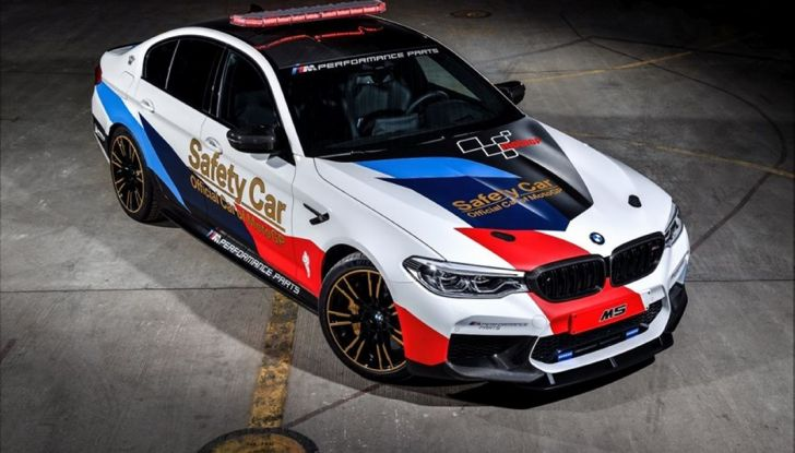 La nuova BMW M5 xDrive è Safety Car della MotoGP 2018 - Foto 5 di 16
