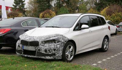 BMW Serie 2 Gran Tourer Facelift, prime informazioni ufficiali