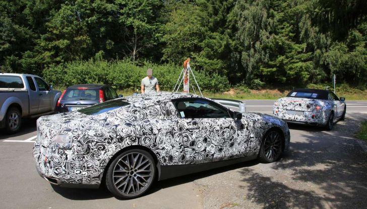 BMW Serie 8 Coupè e Cabrio, nuovi test in vista del debutto - Foto 3 di 17