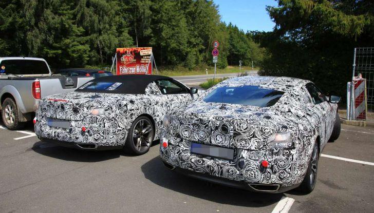 BMW Serie 8 Coupè e Cabrio, nuovi test in vista del debutto - Foto 14 di 17