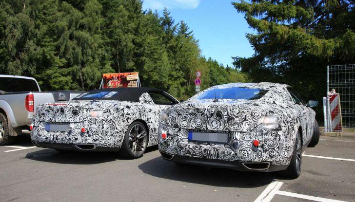 BMW Serie 8 Coupè e Cabrio, nuovi test in vista del debutto - Foto 15 di 17