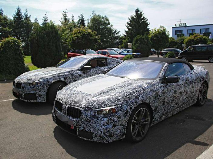 BMW Serie 8 Coupè e Cabrio, nuovi test in vista del debutto - Foto 2 di 17