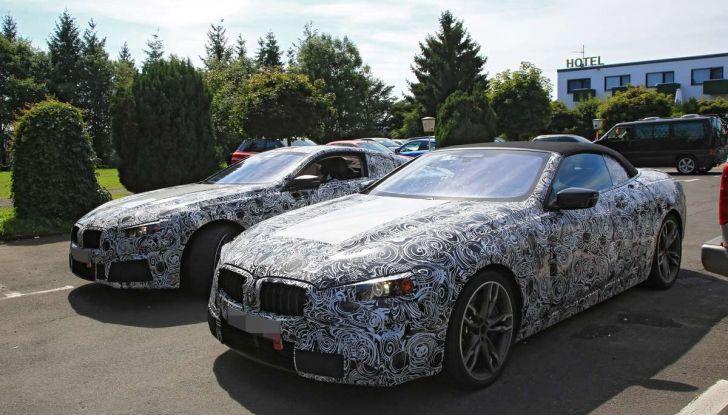 BMW Serie 8 Coupè e Cabrio, nuovi test in vista del debutto - Foto 17 di 17