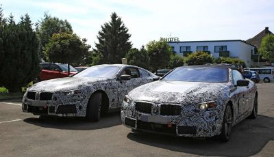 BMW Serie 8 Coupè e Cabrio, nuovi test in vista del debutto