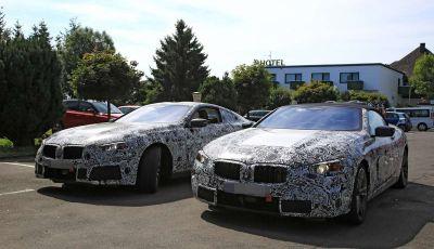 BMW Serie 8 Coupè e Cabrio, nuovi test in vista del debutto
