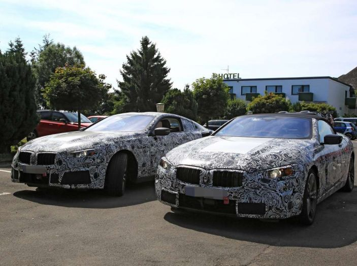 BMW Serie 8 Coupè e Cabrio, nuovi test in vista del debutto - Foto 9 di 17