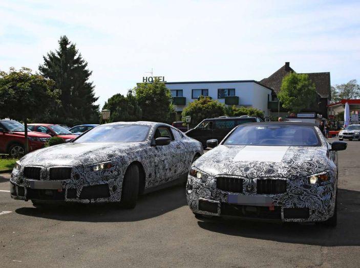BMW Serie 8 Coupè e Cabrio, nuovi test in vista del debutto - Foto 12 di 17