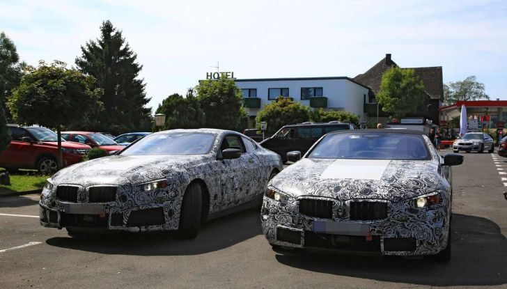 BMW Serie 8 Coupè e Cabrio, nuovi test in vista del debutto - Foto 12 di 17
