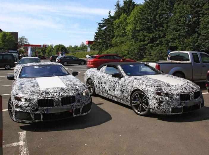 BMW Serie 8 Coupè e Cabrio, nuovi test in vista del debutto - Foto 5 di 17