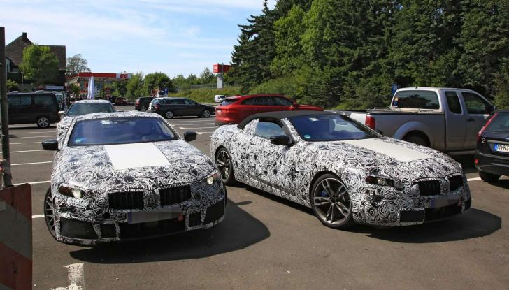 BMW Serie 8 Coupè e Cabrio, nuovi test in vista del debutto - Foto 5 di 17