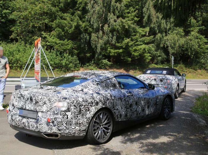 BMW Serie 8 Coupè e Cabrio, nuovi test in vista del debutto - Foto 4 di 17