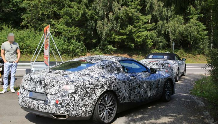 BMW Serie 8 Coupè e Cabrio, nuovi test in vista del debutto - Foto 4 di 17