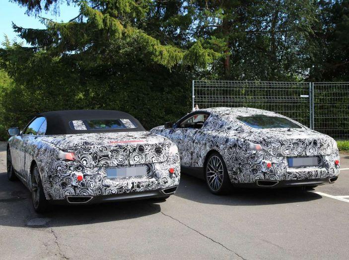 BMW Serie 8 Coupè e Cabrio, nuovi test in vista del debutto - Foto 6 di 17